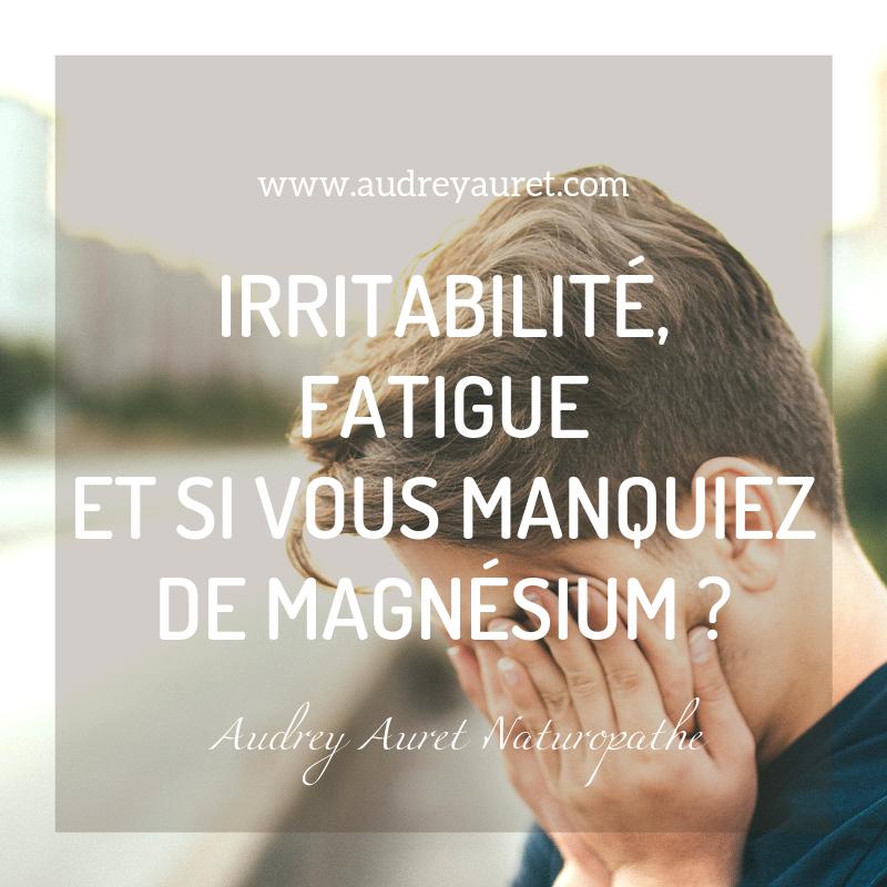 Audrey Auret Naturopathe Pau Fatigue