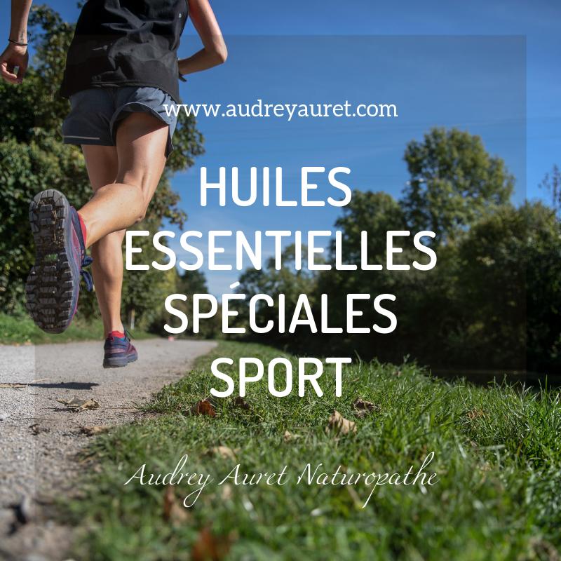 Huiles essentielles spéciales sport